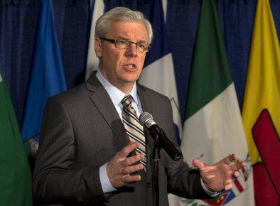 Le premier ministre du Manitoba, Greg Selinger...