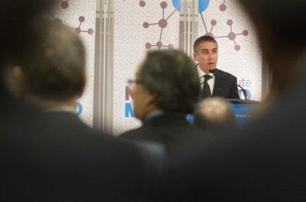 Le ministre des Finances, Nicolas Marceau...