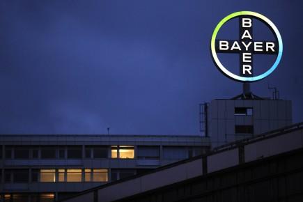 Le siège social de Bayer à Berlin.... (Photo AFP)