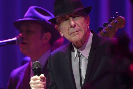 Leonard Cohen... (Photo Bernard Brault, La Presse)