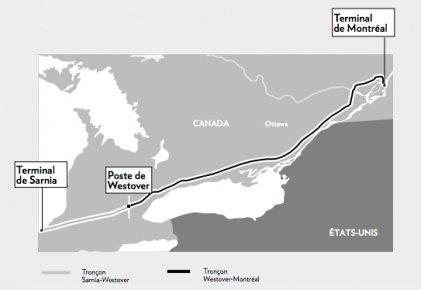 La levée de boucliers contre le projet de renversement du pipeline qui relie...