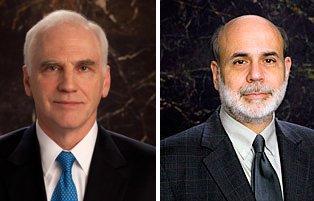 Daniel Tarullo et Ben Bernanke...