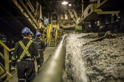 Essentiel pour la galvanisation de l'acier, le zinc l'est aussi pour la survie... (Photo Olivier Pontbriand, La Presse)