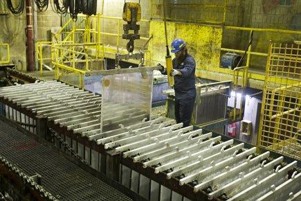 Même si la production minière atteignait une valeur de 25 milliards en 2011, le... (Photo François Roy, La Presse)