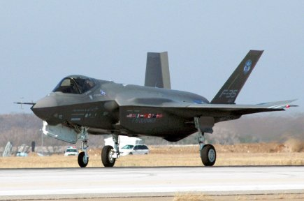 Un F-35.... (Photo Reuters)