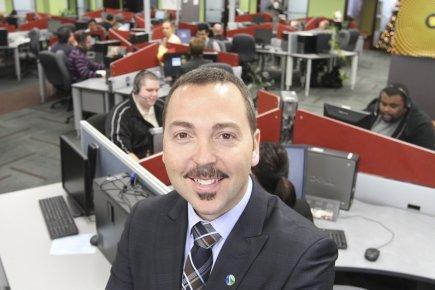 Stéphane Élie, président et fondateur de Symbiose Communication,... (Photo Stéphane Champagne, collaboration spéciale)