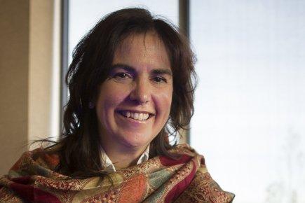 La présidente de Klox Technologies, Lise Hébert.... (Photo Olivier Pontbriand, La Presse)