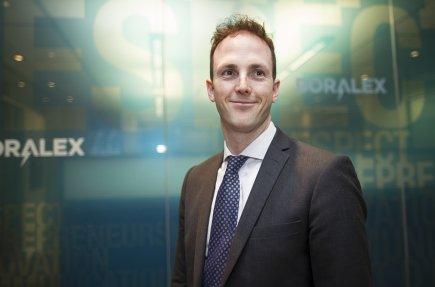 Pascal Hurtubise, directeur des affaires juridiques chez Boralex.... (Photo Olivier Pontbriand, La Presse)