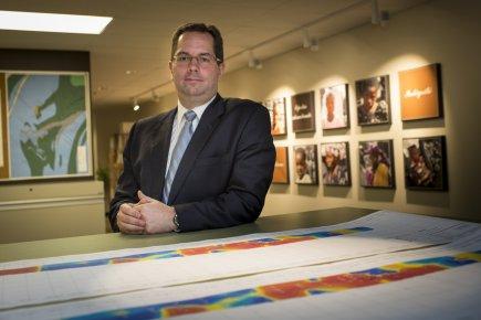 Benoit Desormeaux, PDG de Semafo.... (Photo Olivier Pontbriand, La Presse)