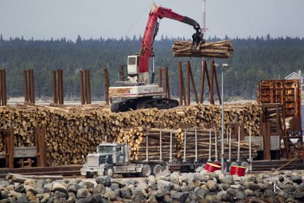 Les entreprises du secteur des ressources souhaitent que... (Photo Ivanoh Demers, archives La Presse)