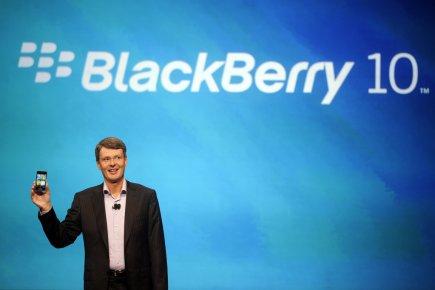 RIM vend des téléphones à 500$ à un... (Photo Reuters)