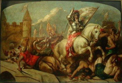 Parmi les nombreux villages québécois qui ont choisi sainte Jeanne d'Arc comme... (Photo internet)