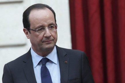 Le président français François Hollande.... (Photo: AFP)