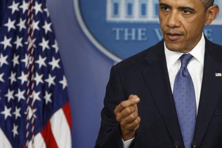 Selon Barack Obama, ses adversaires politiques, qui contrôlent... (Photo : Jonathan Ernst, Reuters)