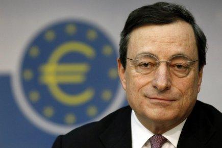 Mario Draghi, président de la Banque centrale européenne,... (Photo : Mario Vedder, AP)