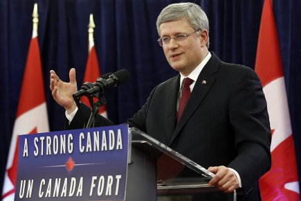 Le premier ministre du Canada, Stephen Harper.... (Photo: Reuters)