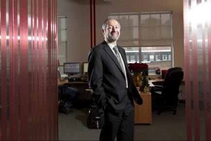 Le PDG d'IFCS, Xavier Bonifay, compte doubler ou... (Photo Hugo-Sebastien AUBERT, La Presse)