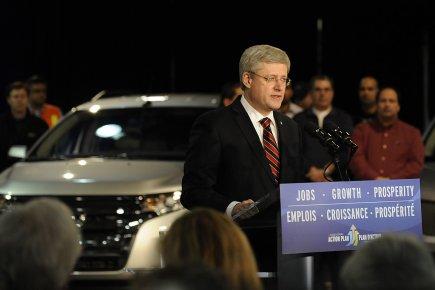 Le premier ministre Harper a annoncé hier que... (Photo: Reuters)