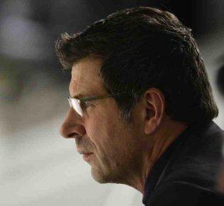 Le nouveau directeur général Marc Bergevin, ancienne vedette... (Bernard Brault,La Presse)