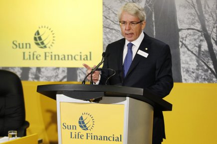 Dean Connor, PDG de la Sun Life.... (Photo Reuters)
