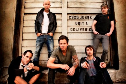 En avril 2012, Simple Plan est devenu le... (Photo: fournie par Warner Music)