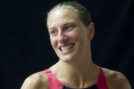 Émilie Heymans est devenue la première plongeuse de... (Photo : Graham Hughes, PC)