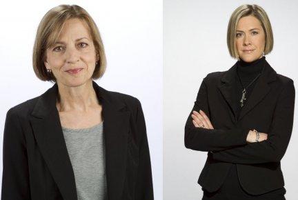 Hélène Baril et Stéphanie Grammond...