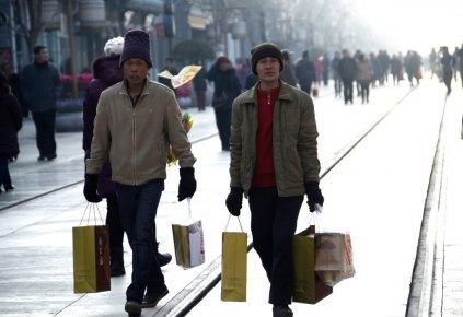 L'économie chinoise a connu l'an dernier sa plus faible croissance en 13 ans...