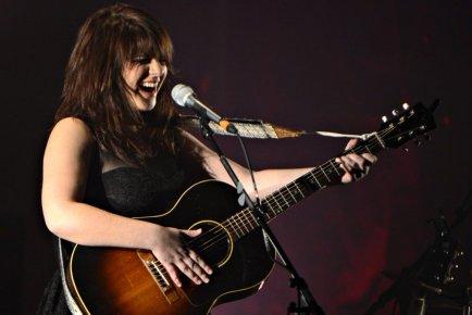 Lisa Leblanc à l'Olympia de Montréal.... (Photo Bernard Brault, La Presse)