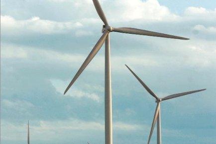 Les Parcs éoliens de la Seigneurie de Beaupré... (Photothèque Le Soleil)
