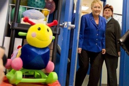 La première ministre du Québec, Pauline Marois, et... (Photo Alain Roberge, archives La Presse)