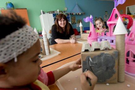 Isabelle Boucher, ancienne éducatrice en milieu familial et... (Photo Alain Roberge, La Presse)