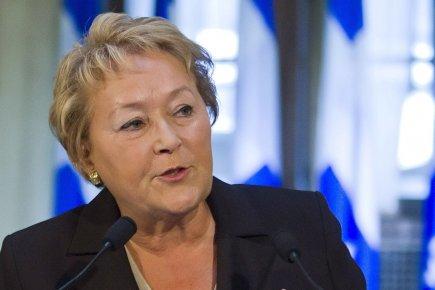 Pauline Marois, la première ministre du Québec.... (Photo: archives PC)