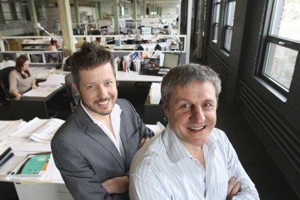 Michel Lauzon (associé principal, à gauche) et Louis... (Photo Stéphane Champagne, collaboration spéciale)