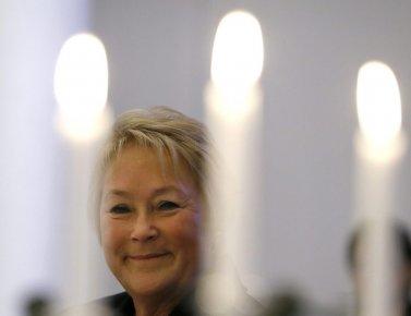 Pauline Marois lors d'un dîner à laChambre de... (Kirsty Wigglesworth)