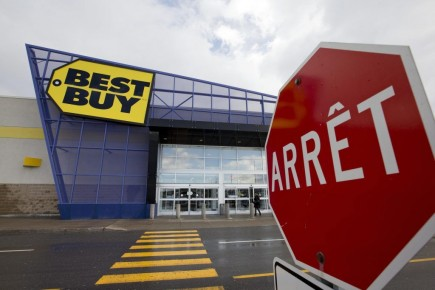 Le magasin Best Buy du Centre Laval.... (PHOTO ALAIN ROBERGE, LA PRESSE)