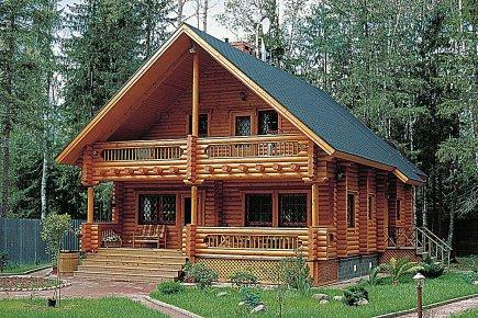 Chalets kontio le prix de la beaut et du confort for Maison rondin bois tarif
