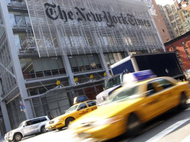 Le New York Times a pour la première fois l'an dernier tiré davantage de...