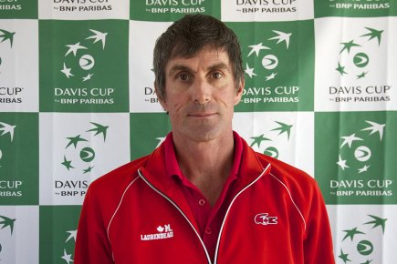 Martin Laurendeau... (Photo: fournie par Tennis Canada)
