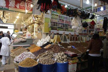 Un marché public au Maroc.... (PHOTO REUTERS)