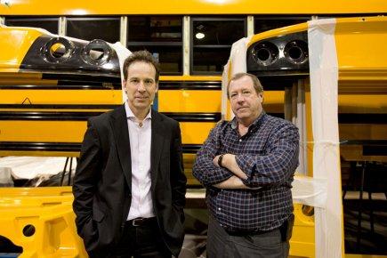 Autobus Lion a été fondée en 2008 par... (PHOTO ALAIN ROBERGE, LA PRESSE)