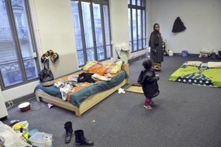 nouvelle tendance parisienne se loger dans des bureaux d saffect s pauline froissart soci t. Black Bedroom Furniture Sets. Home Design Ideas