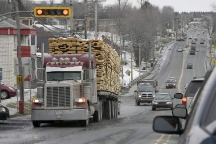 Un très grand nombre de biens transportés au... (Photo: Alain Roberge, archives La Presse)