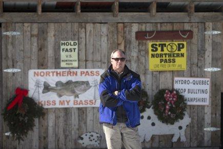 Jack Savage représente la Société pour la protection... (Photo: Ivanoh Demers, La Presse)