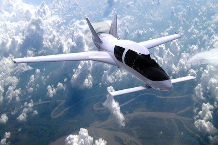 Le Co50 est fabriqué à Saguenay.... (Photo fournie par Cobalt Aircraft)