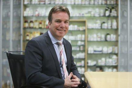Le PDG de Jamp Pharma, Louis Pilon, compte... (Photo Martin Chamberland, La Presse)
