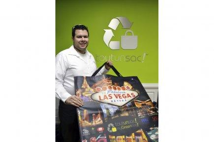 Dominic Demers, propriétaire de Tout un sac.... (Photo fournie par Tout un sac)