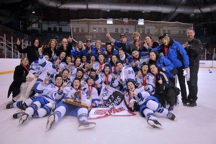 Les Carabins de l'Université de Montréal, championne canadienne... (Photo: fournie par l'Université de Montréal)