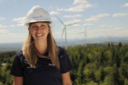 Francine Bernier est ingénieur forestier à Lac-Mégantic. Elle... (Photo fournie par ProForêt Consultants)