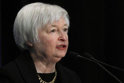 Janet  Yellen, vice-présidente de la banque centrale...